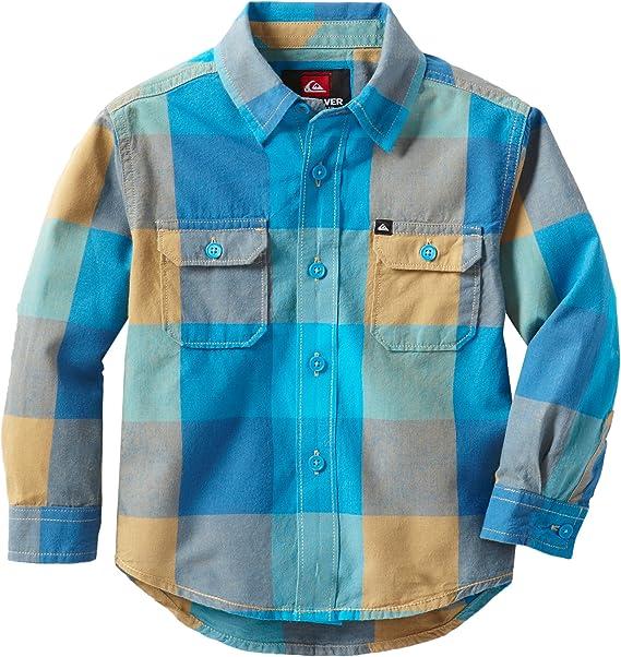 Quiksilver Toddler Boy/'s Shinrin Yoku Light Blue Short Sleeve T-Shirt Tee 2T//3T
