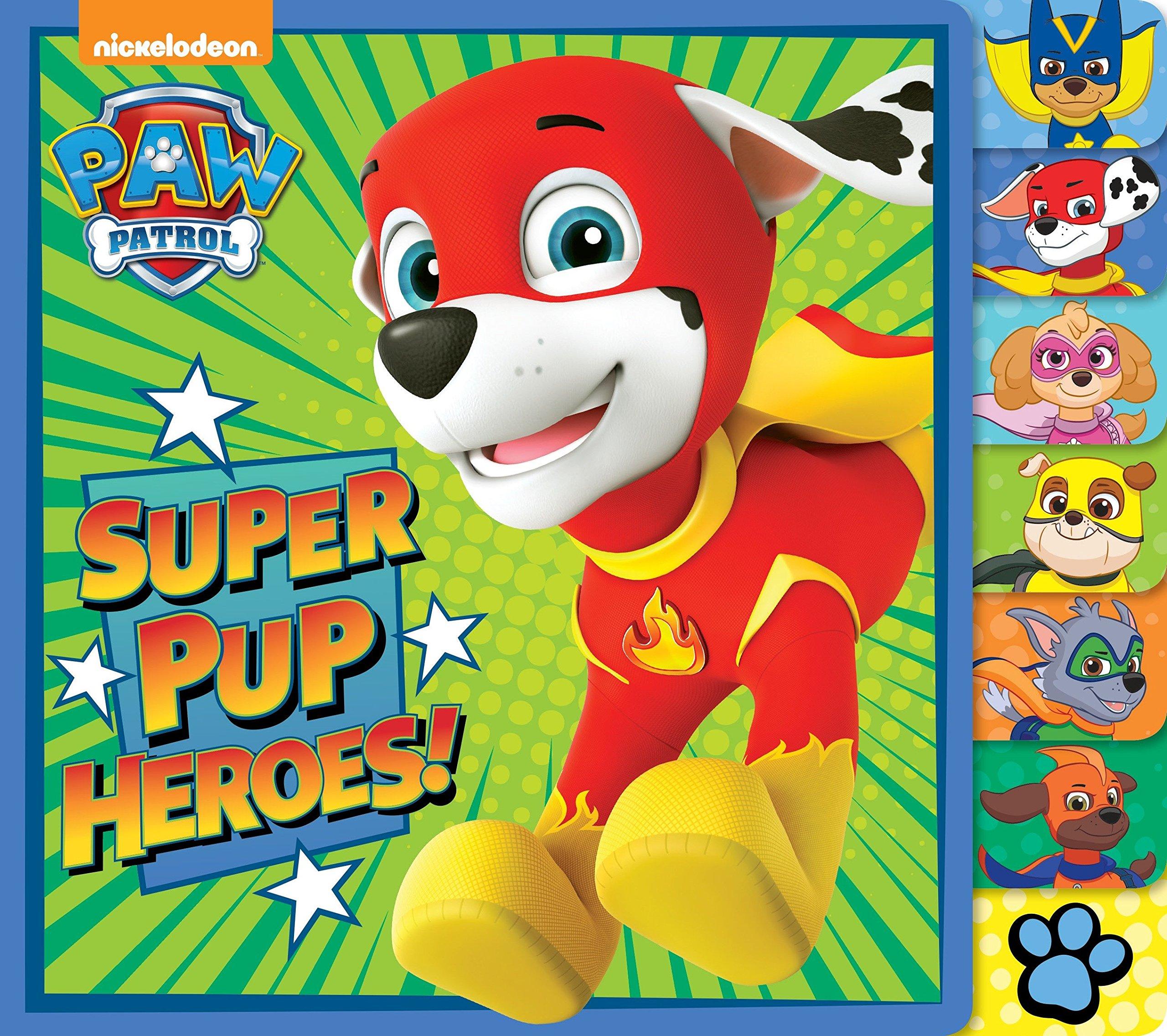 Read Online Super Pup Heroes! (PAW Patrol) (Tabbed Board Book) pdf