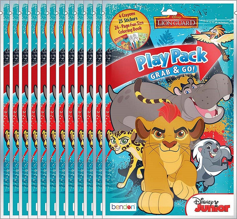 Amazon.com: Disney Junior paquetes de la Guardia Lion Grab ...