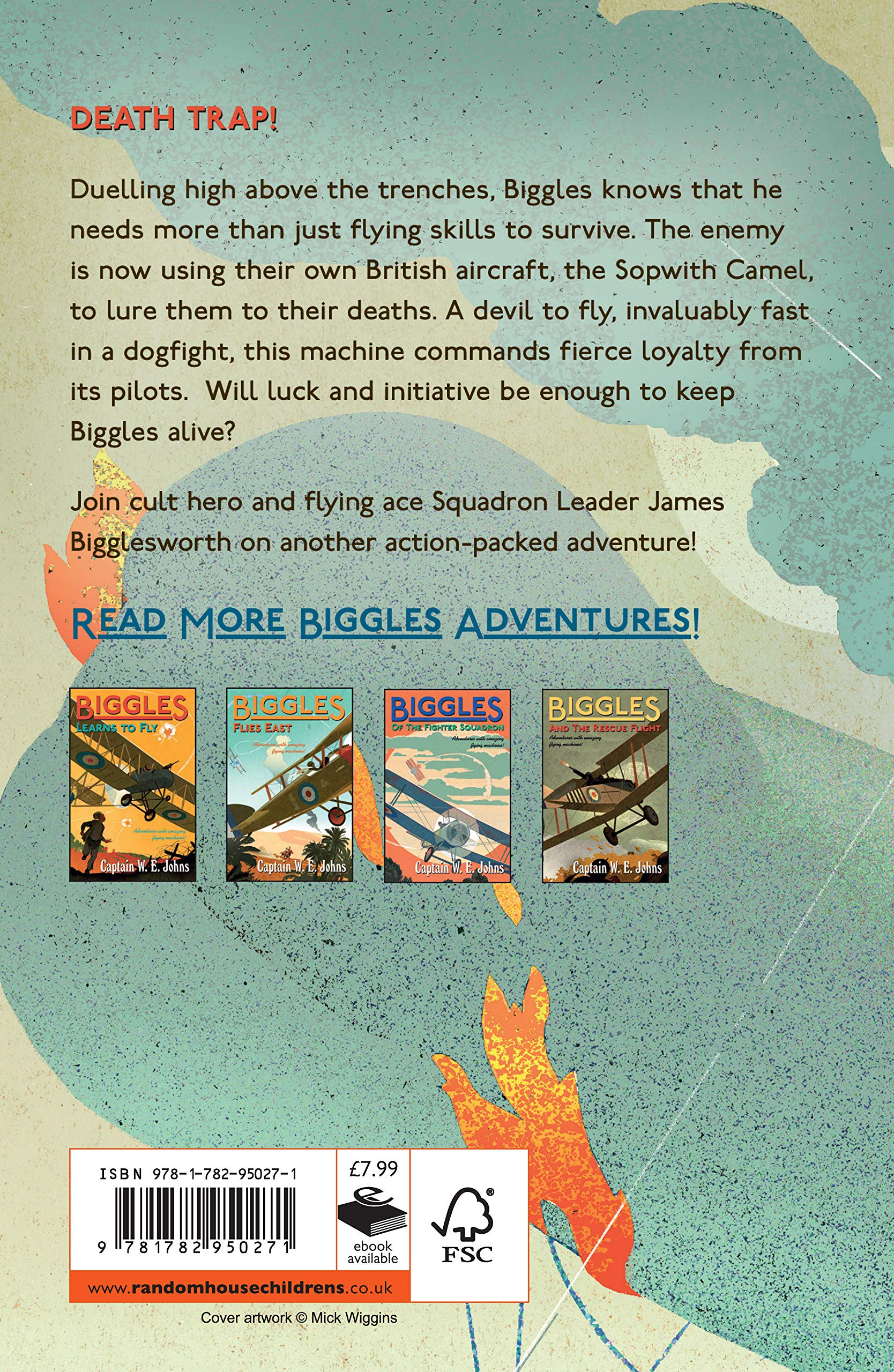 Biggles: The Camels are Coming: Number 3 of the Biggles Series: W.E. Johns:  9781782950271: Amazon.com: Books