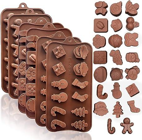 Christmas bell silicone fondant cake chocolate cookie handwer DIY mold X7Z4