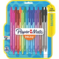 16 Pk Paper Mate InkJoy 100RT Retractable Ballpoint Pens