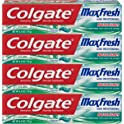 4-Pack Colgate Max Fresh Whitening Toothpaste 6 Ounce