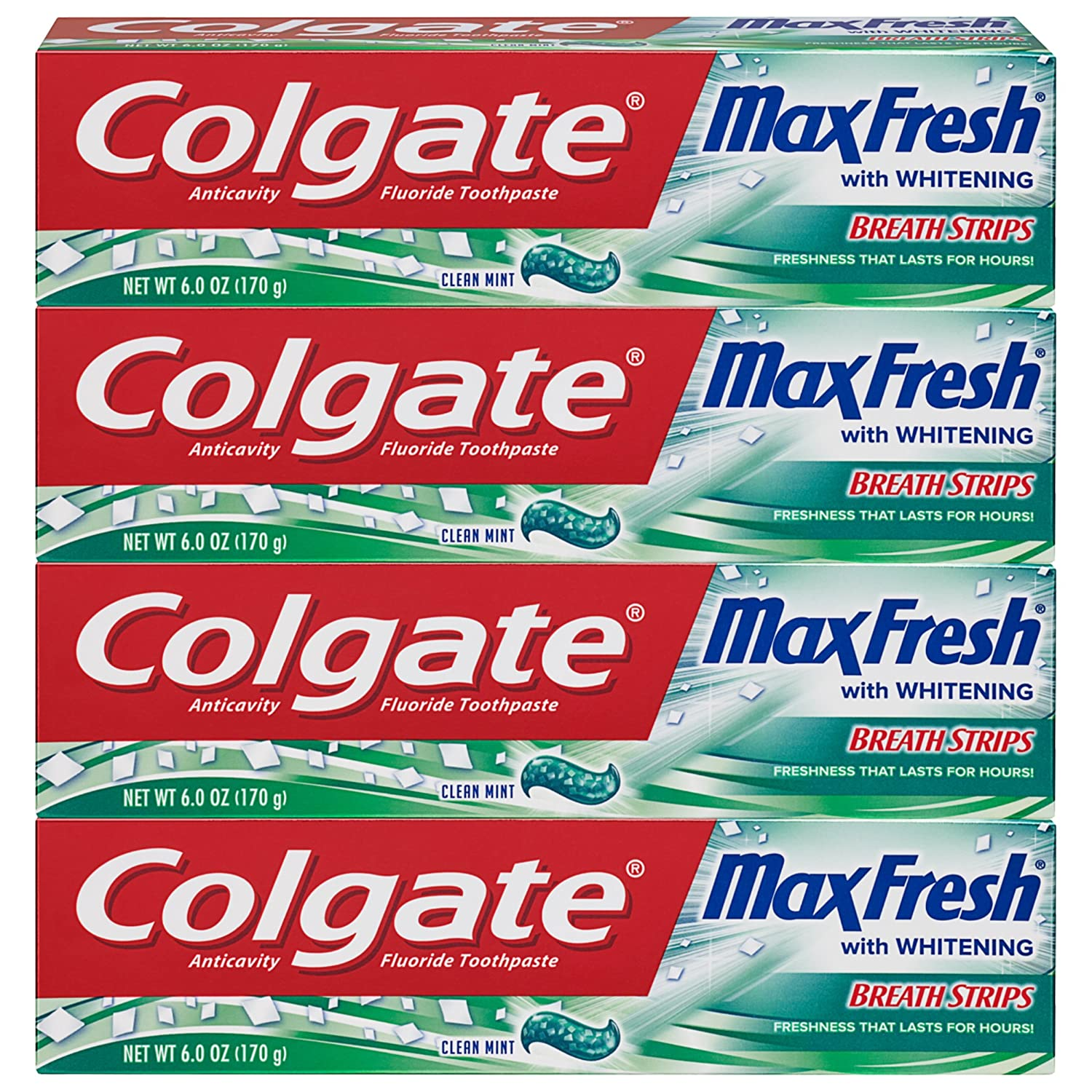 713c2bf1da6 Amazon.com  Colgate Max Fresh Whitening Toothpaste with Breath ...