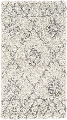 Audrina Khaki and Medium Gray Bohemian Global Area Rug 2 x 3 7