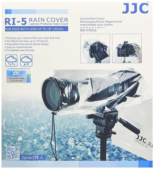 7 opinioni per JJC Copertura antipioggia per fotocamera Reflex, Confezione da 2 pezzi