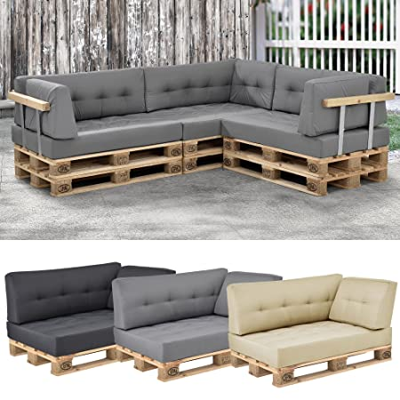 EncasaR Euro Pallet Sofa 1 X Back Rest Cushion