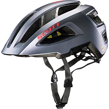 Scott Groove Plus bicicleta casco gris 2018, small/medium