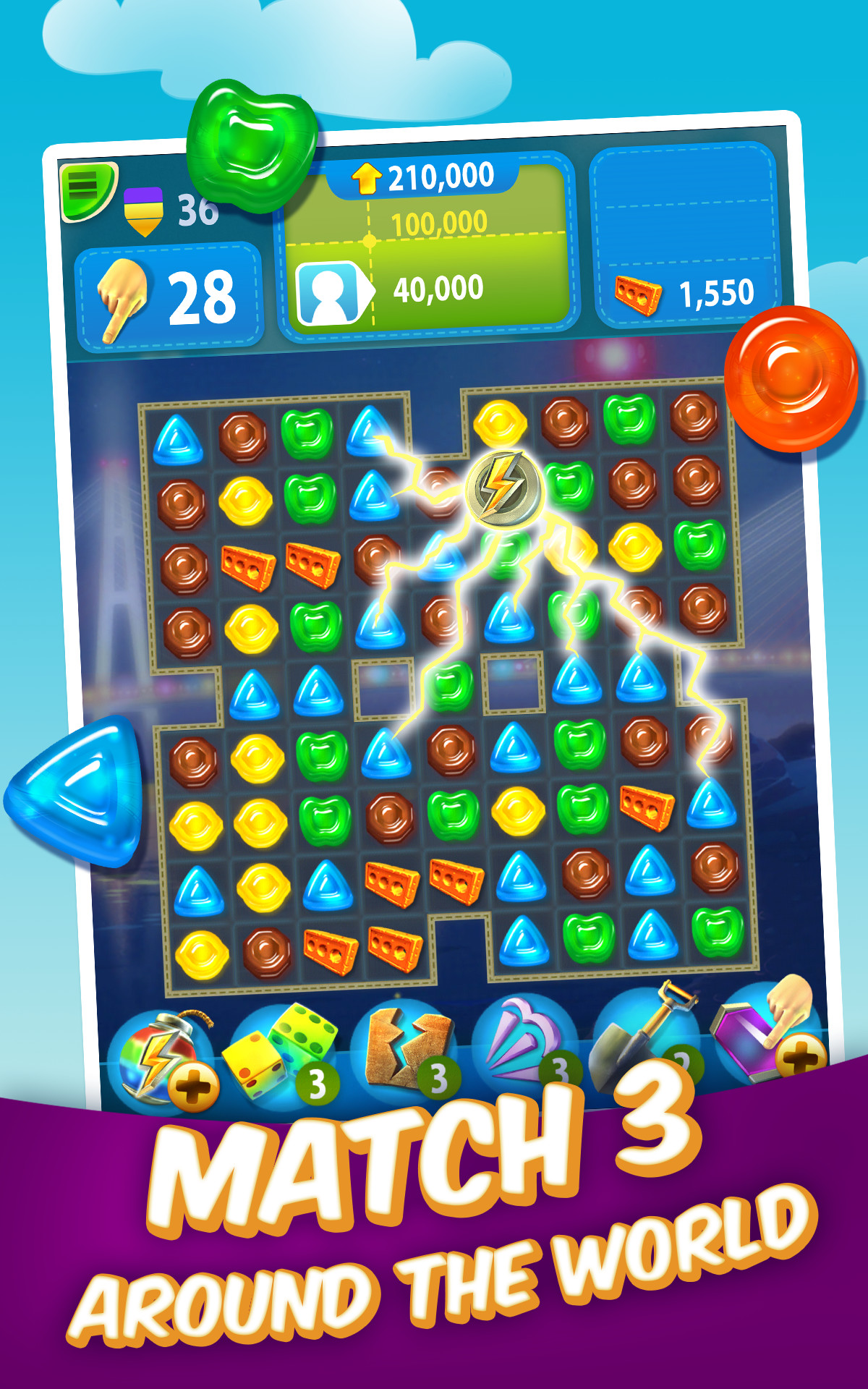 Gummy drop appstore for android for Big fish games for android