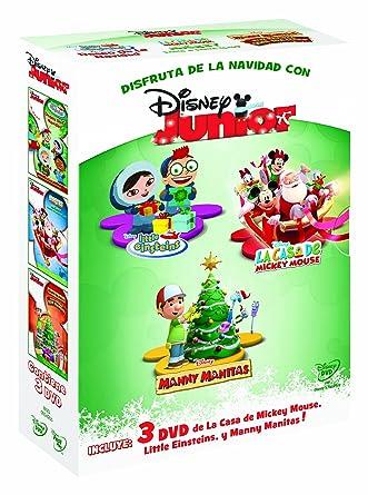 Pack Disney Junior Navidad [DVD]: Amazon.es: Personajes animados ...