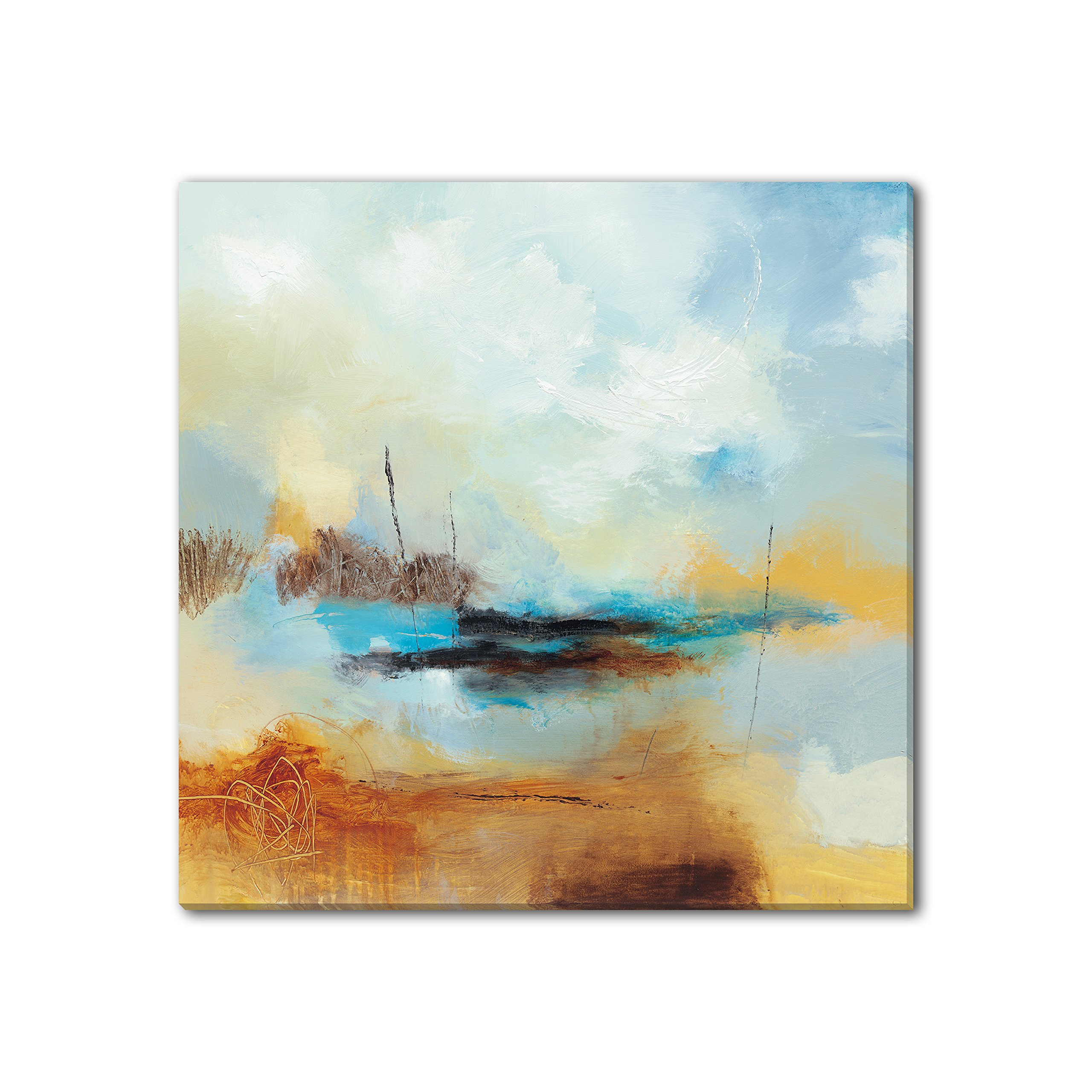 Gallery Direct 'Desert Skies II' Canvas Gallery Wrap by Sean Jacobs, 40 by 40-Inch