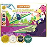 Logic Roots Math Builder Board Game for Kids - Fun Learning Game for 8 - 12 Year Olds, Educational STEM Toy to Master Equatio