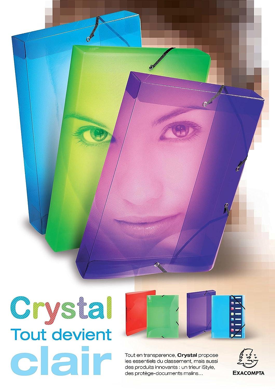 Carpeta de polipropileno transparente Exacompta 784988 A4