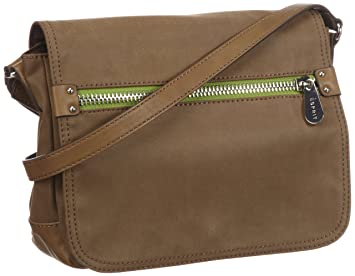 cb70a1616a ESPRIT Sac bandoulière Esprit Tasche, – Beige (Light Teak Brown 214), P15010