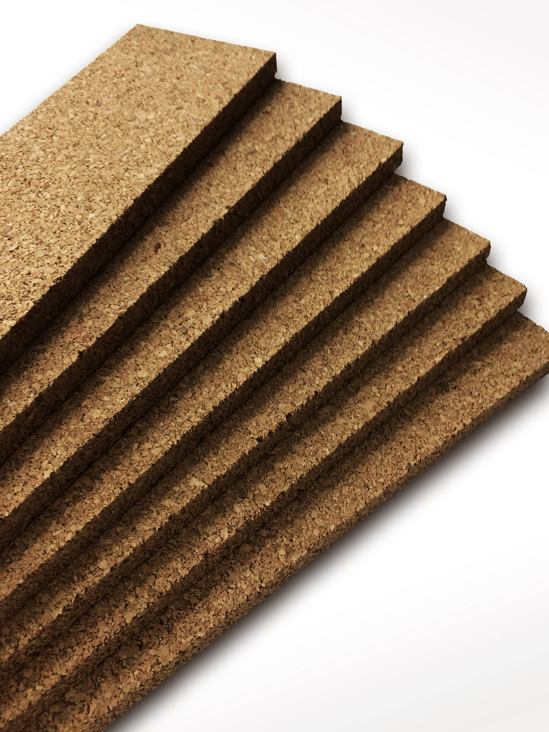 Thick Multi Purpose Cork Strips (8 Pack) Classroom Bulletin Board Bar 36x3.5x0.5 Inches by Jelinek Cork Group (Image #4)