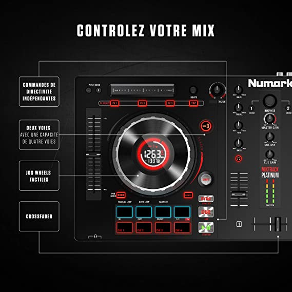 Numark Mixtrack Platinum -