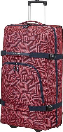 Samsonite Rewind Bolsa de Viaje con Ruedas XL, 82 cm, 113 L, Rojo (Capri Red Stripes): Amazon.es: Equipaje