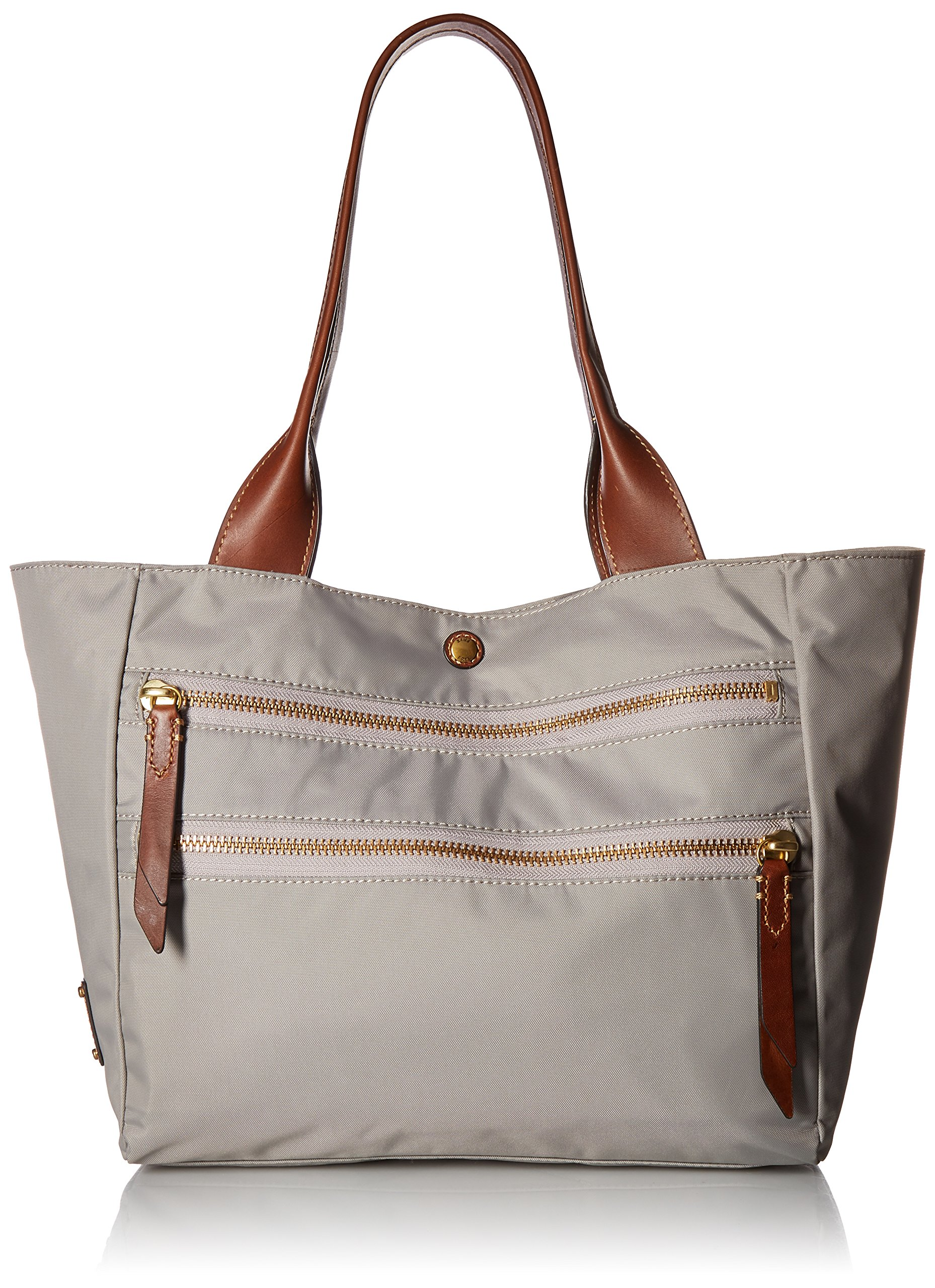 FRYE Ivy Nylon Tote Handbag, Light Grey