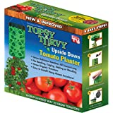 Topsy Turvy New & Improved Upside Down Tomato Planter - As Seen On TV (Topsy Turvy)