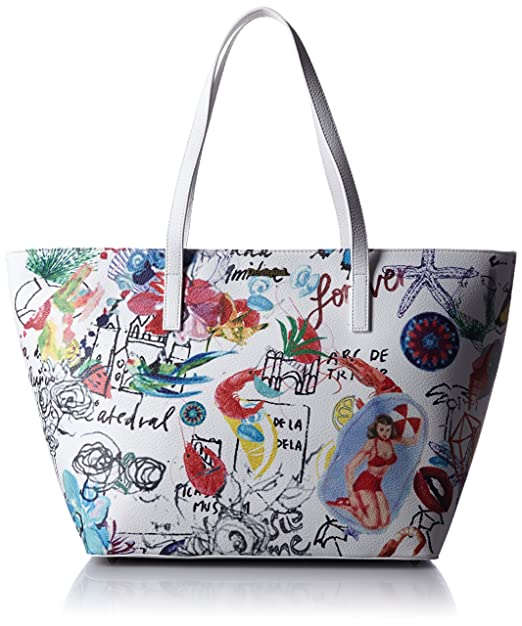 Desigual Bols San Francisco Sweetlemon Blanco