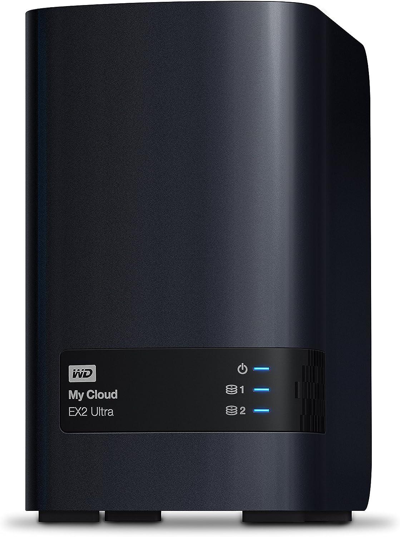 WD 4TB My Cloud EX2 Ultra Network Attached Storage - NAS - WDBVBZ0040JCH-NESN