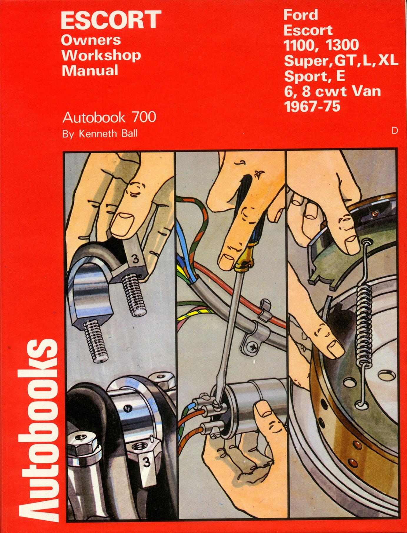 Ford Escort 1967-75 Autobook: Kenneth Ball: 9780851475554: Amazon.com: Books