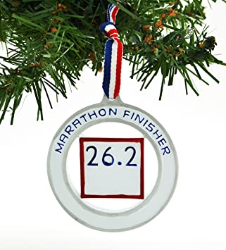 Amazon.com: PERSONALIZED CHRISTMAS ORNAMENT DISTANCE ENDURANCE FULL ...