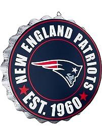 patriots england nfl foco gear wall sign fan sports bottlecap team