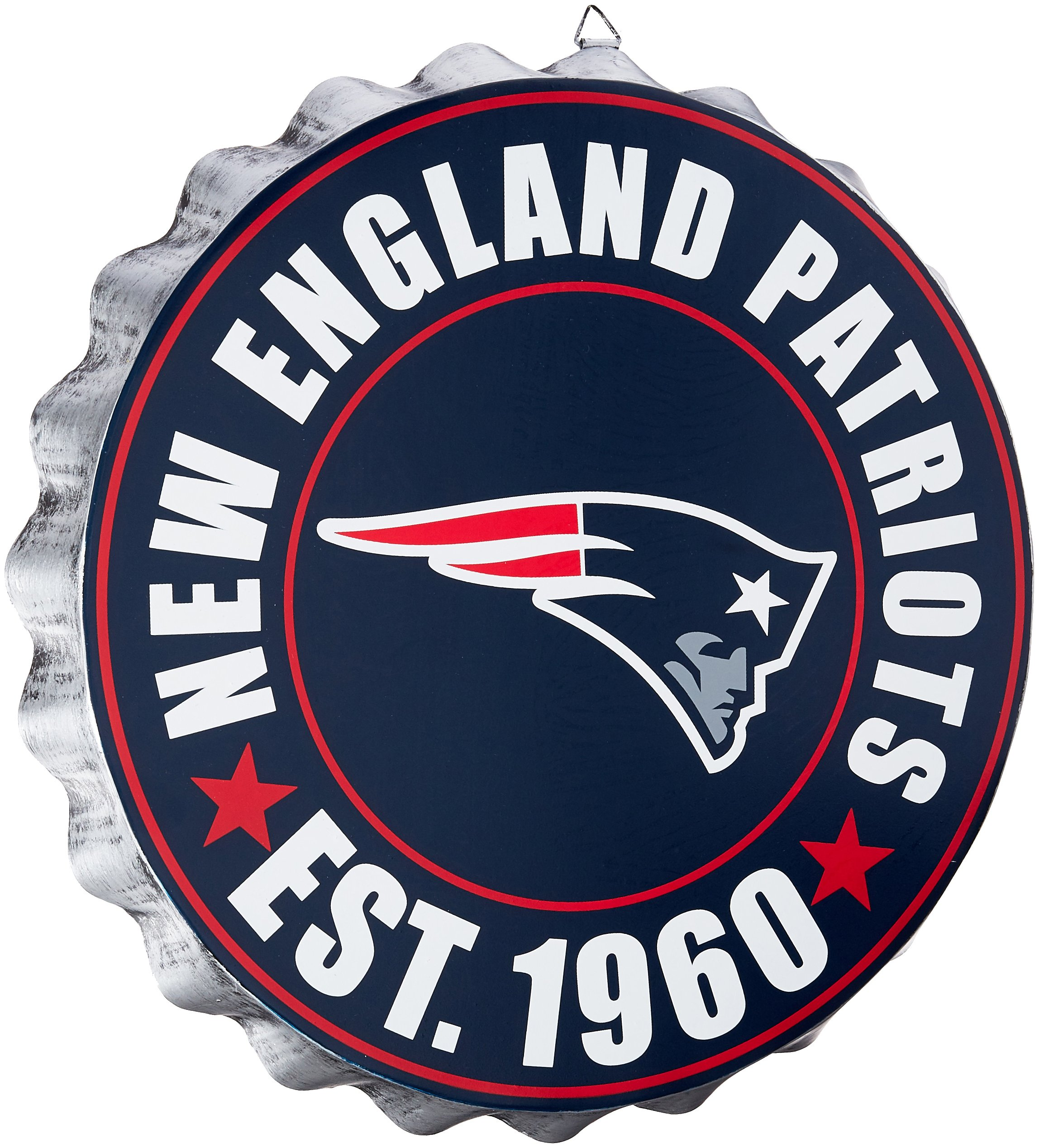 New England Patriots 2016 Bottle Cap Wall Sign by FOCO