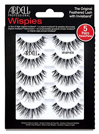 dee9dde9beb Ardell Multipack Wispies (x5): Amazon.co.uk: Beauty