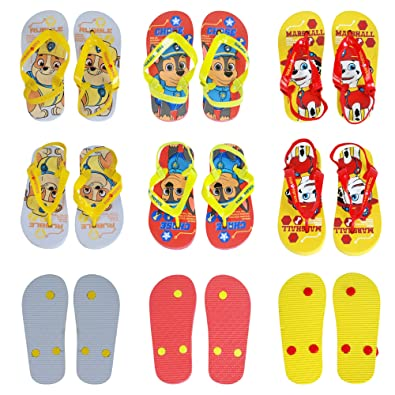 7f40f62c7fccb Nickelodeon® Genuine Licensed Paw Patrol Children s Flip Flops Sandals  Swimming Pool Beach Slippers Shoes UK Sizes (18months to 6 Years) One Pair  Despatched