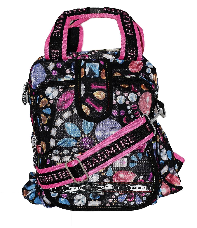 Fusine™ Bagmire Women s Traveler Premium 3 in 1 Backpack cum Handbag cum  sling bag  Amazon.in  Shoes   Handbags 39b9324ef3229