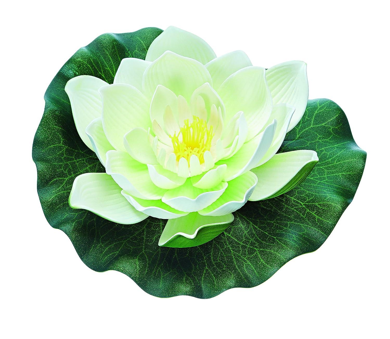 Pontec PondoLily Decorative Pond Lily Pads White