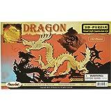 3-D Dragon Puzzle: 148 Wooden Pieces (No. 1506)