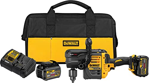 DEWALT DCD460T2 60V MAX 2 Battery FLEXVOLT Stud Joist Drill Kit, 1 2