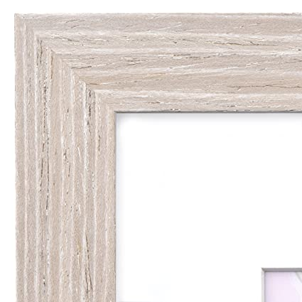 Amazon.com - 18x24 Picture Frame Barnwood Natural Oak - Matted for ...