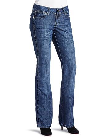 10fd1ea2 Wrangler Women's Premium Patch Low Rise Mae Jean at Amazon Women's Jeans  store
