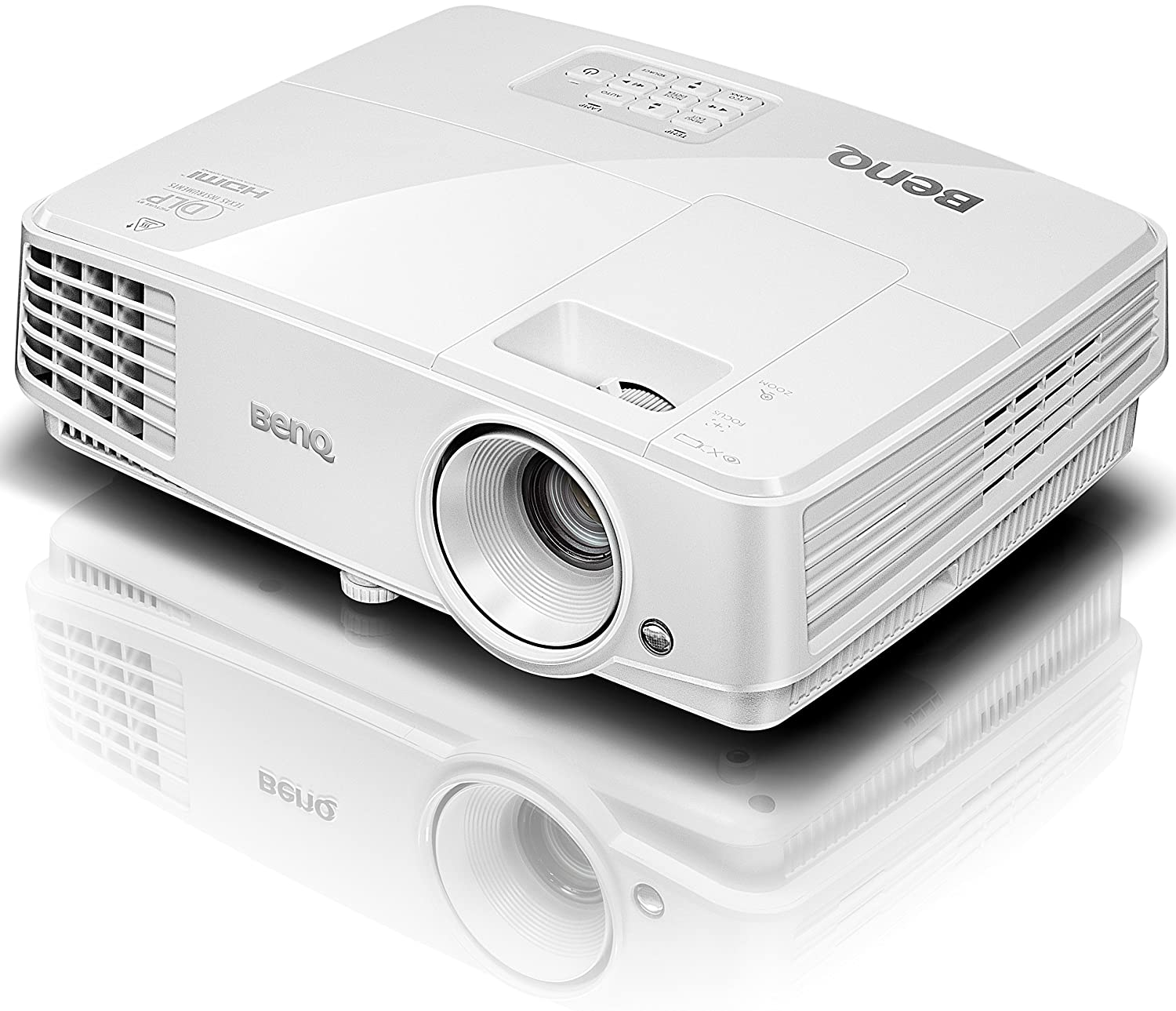 Amazon.com: BenQ MS527 3D DLP Projector SVGA 800X600 3300 ...