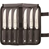 Mercer Culinary Genesis 7-Piece Forged Steak Knife Set