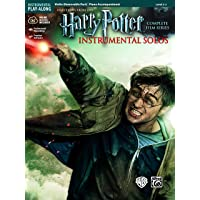 Harry Potter Instrumental Solos for Strings: Violin (Book & CD): Violin, Book & Online Audio/Software