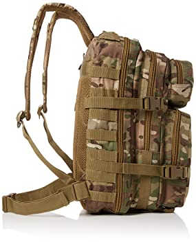 Amazon.com : Mil-Tec Military Army Patrol Molle Assault Pack Tactical Combat Rucksack Backpack Bag 36L Multitarn Multicam Camo : Sports & Outdoors