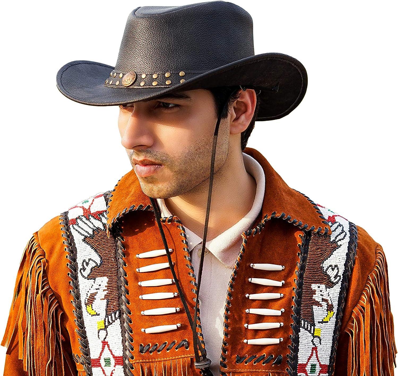 size M Size 7 to 7 18 Vintage Mens or Womens Felt Western Cowboy Hat