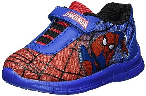 SpidermanSp003205 - Scarpe da Ginnastica Basse Bambino, Blu (Blau (Red/L.C.Blue 637)), 33