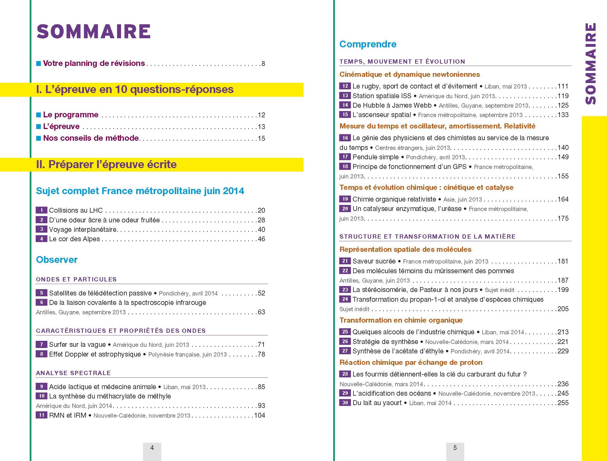 Annales Annabac 2015 Physique-Chimie Tle S Spécifique & spécialité: sujets et corrigés du bac - Terminale S: Amazon.es: Jérôme Fréret, Caroline Adam: Libros ...