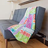 Amazon.com: KraftDirect Quilts Throws - SUPERIOR QUALITY ... : quilted sofa throws - Adamdwight.com