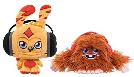 Moshi Monsters 78365 - Peluches de Katsuma y Furi para iPhone (en ...