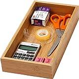 YBM Home & Kitchen Bamboo Drawer Organizer Box 326 6x12