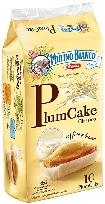 23 opinioni per Mulino Bianco- Plumcake Yogurt- 5 pezzi da 330 g [1650 g]