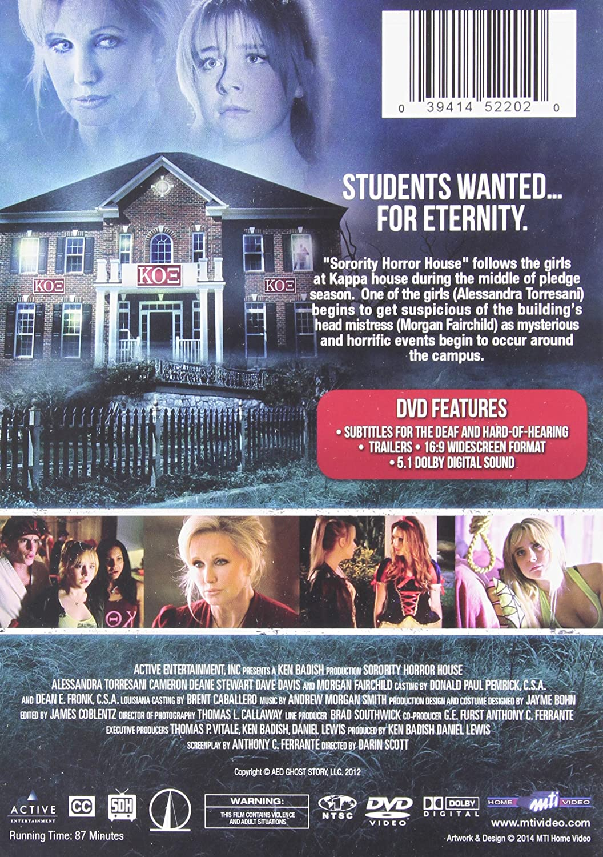 Sorority Horror House Import Amazon Ca Dvd