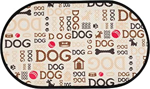 STS Microfiber Pet Bowl Mat